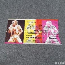 Entradas de Conciertos: ENTRADA DEL CONCIERTO DE ROD STEWART WORLD TOUR. MADRID. JULIO DE 1983. CAMPO DEL GAS. Lote 263084785