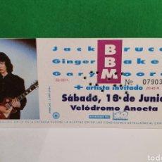 Billets de concerts: BBM ANTIGUA ENTRADA. Lote 267485409