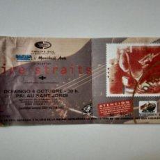 Bilhetes de Concertos: DIRE STRAITS - ENTRADA CONCIERTO BARCELONA 1992 - TICKET.. Lote 267609414