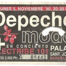 Entradas de Conciertos: DEPECHE MODE ENTRADA WORLD VIOLATION / VIOLATOR 1990 BARCELONA. Lote 271053433