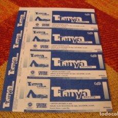Entradas de Conciertos: TANYA DONELLY 4 ENTRADAS PRUEBAS DEL PROMOTOR SIN NUMERAR BARCELONA 1997 PROMOTER PROOFS. Lote 277597068
