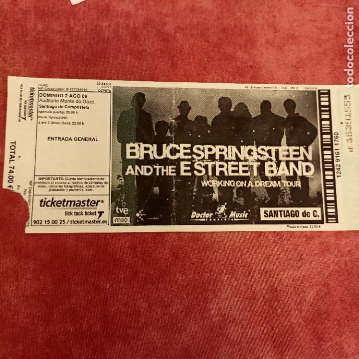 BRUCE SPRINGSTEEN & THE E STREET BAND (2009) MONTE DO GOZO SANTIAGO DE COMPOSTELA (Música - Entradas)