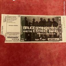 Entradas de Conciertos: BRUCE SPRINGSTEEN & THE E STREET BAND (2009) MONTE DO GOZO SANTIAGO DE COMPOSTELA. Lote 277600668