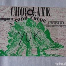 Entradas de Conciertos: POSTAL INVITACION DE LA DISCOTECA CHOCOLATE - A TODO COLOR - 1987 - RUTA BAKALAO -DESTROY. Lote 277602458