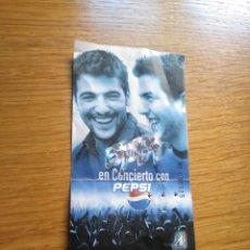 Biglietti di Concerti: ENTRADA DEL CONCIERTO DE ESTOPA GIRA 2002 EN LEON. Lote 281053163