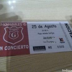 Biglietti di Concerti: ENTRADA ANTIGUA DE UN CONCIERTO DE HOMBRES G. ÁGUILAS ( MURCIA). NÚMERO 300. Lote 286623253