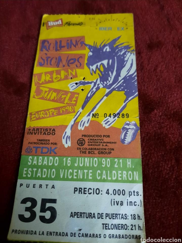 Entradas de Conciertos: ENTRADAS THE ROLLING STONES ESTADIO VICENTE DE CALDERON - Foto 2 - 288481823