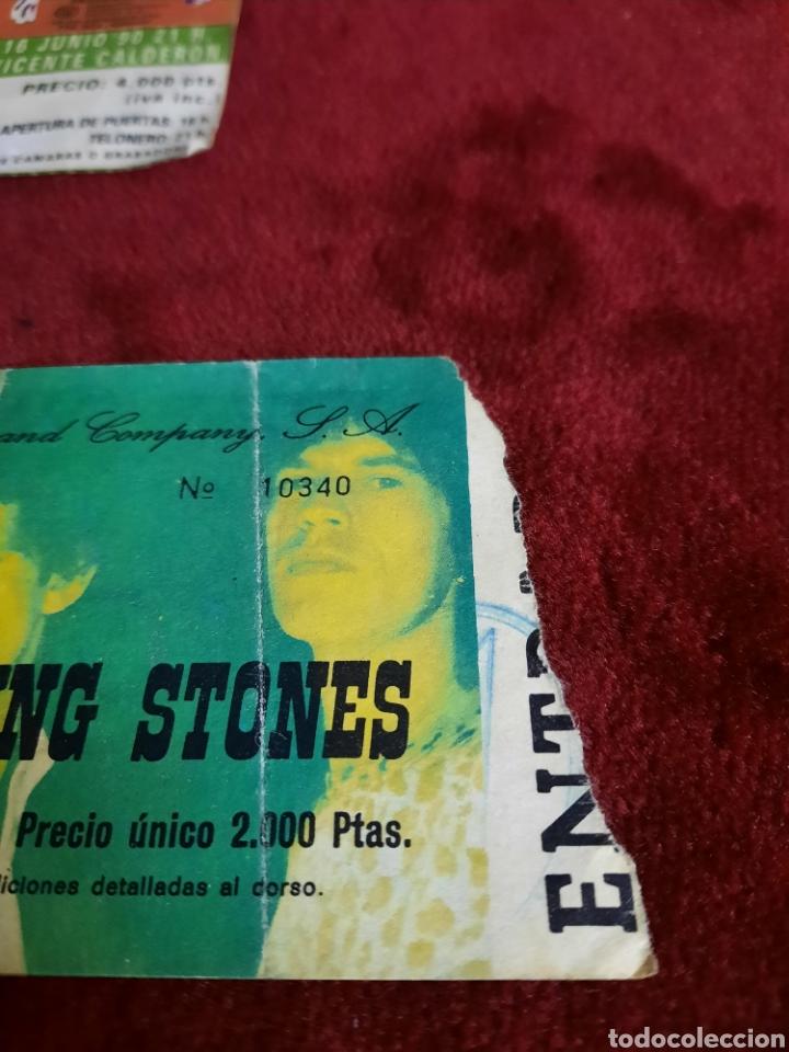 Entradas de Conciertos: ENTRADAS THE ROLLING STONES ESTADIO VICENTE DE CALDERON - Foto 5 - 288481823