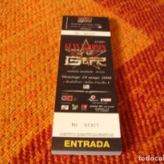 Entradas de Conciertos: GUNS N´ ROSES TACO DE 50 ENTRADAS COMPLETO MADRID 2006 GIRA TOUR DE LA 01351 A 01400. Lote 289832963