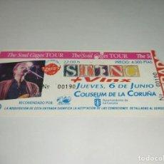 Entradas de Conciertos: 1021-ENTRADA CONCIERTO ORIGINAL STING + VINX COLISEUM LA CORUÑA 6 JUNIO 1991. Lote 292613168