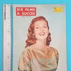 Entradas de Conciertos: RETAPADO 6 REVISTAS FRANCESAS MON FILM SIX FILMS A SUCCES 1958, VER DESCRIPCION E IMAGENES. Lote 295351808