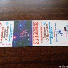 Biglietti di Concerti: ENTRADA CONCIERTO SCORPIONS ORIGINAL SIN NUMERAR PAMPLONA 1996. Lote 295803208