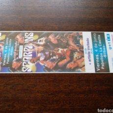 Biglietti di Concerti: ENTRADA CONCIERTO SCORPIONS ORIGINAL SIN NUMERAR BILBAO 1999. Lote 295806318