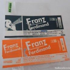 Entradas de Conciertos: ENTRADA DE CONCIERTOS DE FRANZ FERDINAND R-020. Lote 296590593