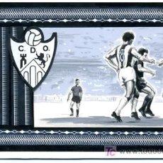 Coleccionismo deportivo: FUTBOL ,ORIGINAL PINTADO A MANO , ENTRADA FUTBOL C.D. ORENSE. Lote 26959813