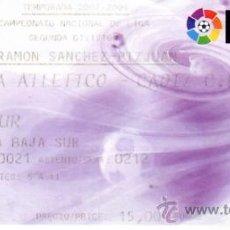 Coleccionismo deportivo: SEVILLA ATLETICO CADIZ EN SANCHEZ PIZJUAN ENTRADA DE FUTBOL. Lote 13779191
