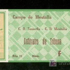 Coleccionismo deportivo: ENTRADA DE FUTBOL. CAMPO DE MESTALLA. C.D. TENERIFE C.D. MESTALLA. Lote 18432055