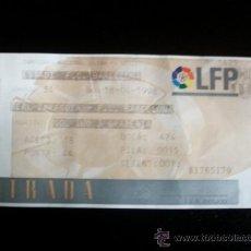 Coleccionismo deportivo: ENTRADA LIGA 1997 98 CAMP NOU BARCELONA ZARAGOZA. Lote 26192751