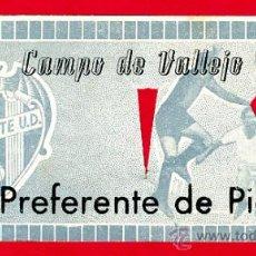 Coleccionismo deportivo: ENTRADA FUTBOL , LEVANTE CAMPO VALLEJO , 1964 , ORIGINAL, EF1385. Lote 25951655