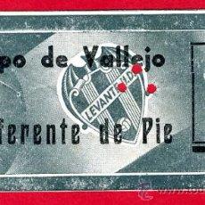Coleccionismo deportivo: ENTRADA FUTBOL , LEVANTE CAMPO VALLEJO , 1964 , ORIGINAL, EF1386. Lote 25951660