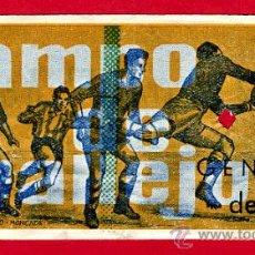 Coleccionismo deportivo: ENTRADA FUTBOL , LEVANTE CAMPO VALLEJO , 1960 , ORIGINAL, EF1389. Lote 25951689