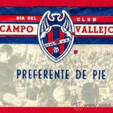 Coleccionismo deportivo: ENTRADA FUTBOL , LEVANTE UD MESTALLA , 1966 , ORIGINAL, EF1391. Lote 25951734