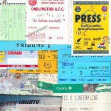 Coleccionismo deportivo: LOTE 15 ENTRADAS ESTADIOS DE FUTBOL DISTINTAS - VARIOS EQUIPOS. Lote 26724839