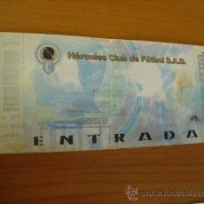 Coleccionismo deportivo: ENTRADA PARTIDO HERCULES - BURGOS,2002. Lote 27488040
