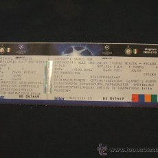 Coleccionismo deportivo: ENTRADA STADIO MEAZZA MILANO - SEMIFINAL CHAMPIONS LEAGUE - INTER - F.C. BARCELONA - 20/04/2010. Lote 27881325