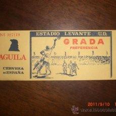 Coleccionismo deportivo: ENTRADA ESTADIO LEVANTE U.D.. Lote 28525400