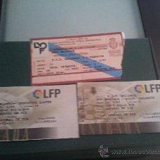 Coleccionismo deportivo: LOTE 3 ENTRADAS RCD MALLORCA 91/92 Y 95/96. Lote 28830127