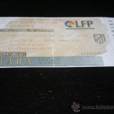 Coleccionismo deportivo: ENTRADA FÚTBOL SEMIFINAL COPA UEFA AT. MADRID - PARMA 06-04-99. Lote 29871056