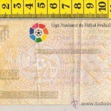 Coleccionismo deportivo: ENTRADA DE FUTBOL DEL ATLETICO DE MADRID - F.C. BARCELONA ESTADIO VICENTE CALDERON 1994-1995. Lote 31323507