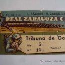 Coleccionismo deportivo: ZARAGOZA - LAS PALMAS . LA ROMAREDA. Lote 32448087