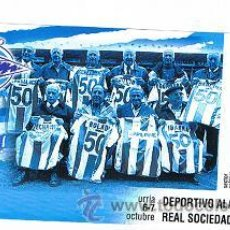 Coleccionismo deportivo: ENTRADA DEL DEPORTIVO ALAVES VS R. SOCIEDAD B. Lote 48719713