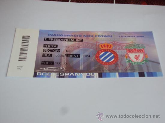 Coleccionismo deportivo: RCD Espanyol. Inauguracio Nou Estadi 2-8-2009- - Foto 3 - 35267204