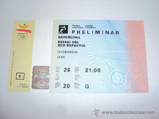 Coleccionismo deportivo: RCD Espanyol . Estadi de Sarria .JJOO Barcelona 92 - Foto 2 - 36321659