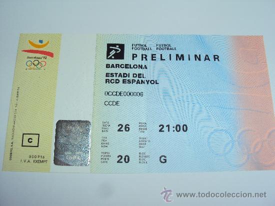 Coleccionismo deportivo: RCD Espanyol . Estadi de Sarria .JJOO Barcelona 92 - Foto 3 - 36321659