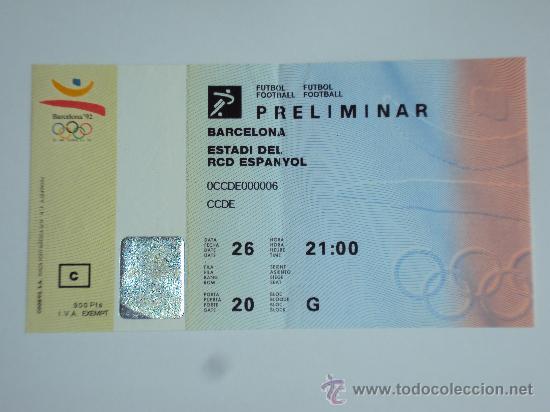Coleccionismo deportivo: RCD Espanyol . Estadi de Sarria .JJOO Barcelona 92 - Foto 4 - 36321659