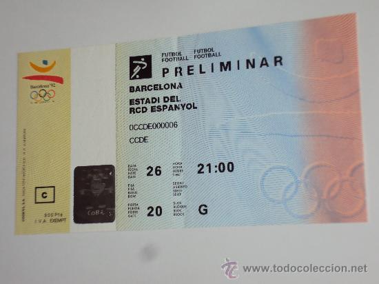 Coleccionismo deportivo: RCD Espanyol . Estadi de Sarria .JJOO Barcelona 92 - Foto 5 - 36321659