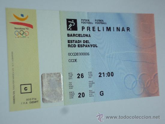 Coleccionismo deportivo: RCD Espanyol . Estadi de Sarria .JJOO Barcelona 92 - Foto 6 - 36321659