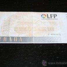 Coleccionismo deportivo: ENTRADA FÚTBOL VALENCIA - SLAVIA PRAHA COPA UEFA 1997. Lote 39260634