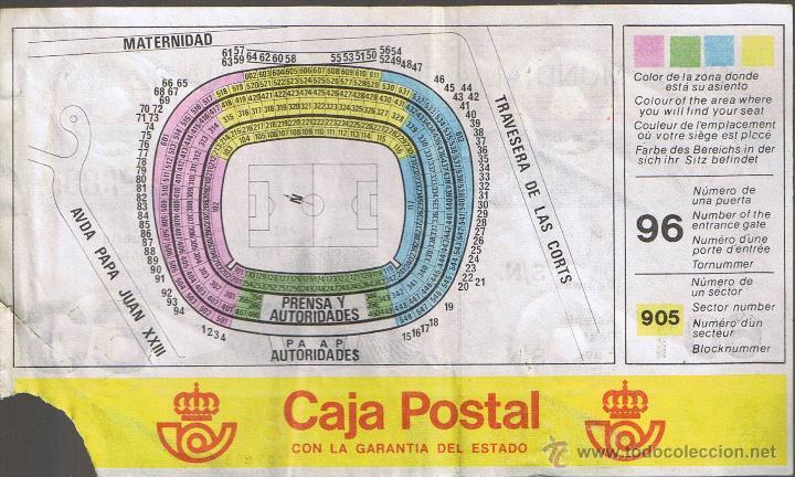 Coleccionismo deportivo: COPA MUNDIAL FIFA ESPAÑA 82 ESTADIO F.C. BARCELONA - Foto 2 - 41246772
