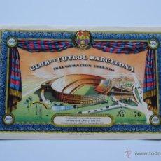 Coleccionismo deportivo: ENTRADA INAGURACION DEL ESTADIO C.F. BARCELONA. Lote 41759599