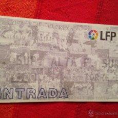 Collectionnisme sportif: ENTRADA TICKET REAL MADRID ATHLETIC BILBAO COPA DEL REY 2001 2002. Lote 42316875