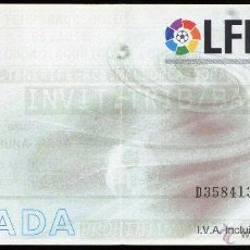 Coleccionismo deportivo: ENTRADA FUTBOL FOOTBALL TICKET TENERIFE MALLORCA LIGA. Lote 44176760