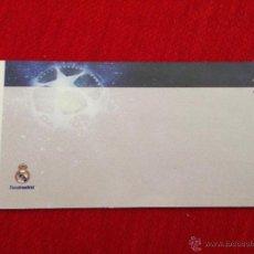 Coleccionismo deportivo: CURIOSA ENTRADA TICKET REAL MADRID CHAMPIONS LEAGUE SIN IMPRIMIR. Lote 44636296