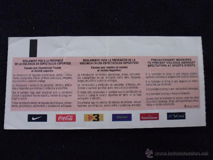 entrada invitacion copa del rey cuartos de final futbol club fc barcelona  f.c barça cf