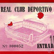 Coleccionismo deportivo: ENTRADA FUTBOL , REAL CLUB DEPORTIVO ESPAÑOL , ANTIGUA , ORIGINAL , EF3397. Lote 46208331