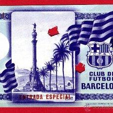 Coleccionismo deportivo: ENTRADA FUTBOL , CLUB FUTBOL BARCELONA ESPECIAL , ANTIGUA , ORIGINAL , EF3405. Lote 46208488